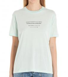 Stella McCartney Blue Fortune Planet T-Shirt
