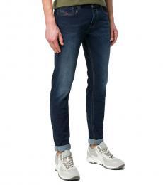 Diesel Dark Blue Skinny Fit Sleenker Jeans