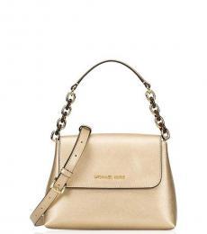 Michael Kors Gold Sofia Small Shoulder Bag