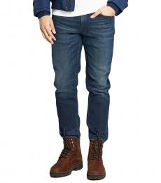 Love Moschino Dark Blue Figure Hugging Jeans
