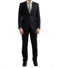 Versace Collection Grey Wool Cashmere Suit