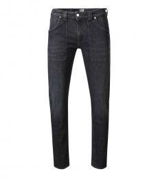 Love Moschino Dark Grey Figure Hugging Jeans