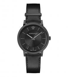 Versace Black Logo Modish Watch