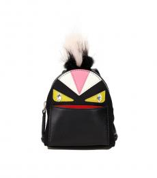 Fendi Black Monster Eye Key Holder