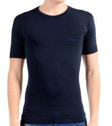 Blue Stretch Short Sleeve Tee