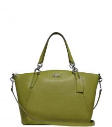 Coach Green Kelsey Medium Satchel