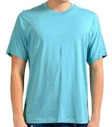 Turquoise Crewneck Short Sleeve T-Shirt