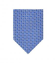 Blue Pattern Modish Tie