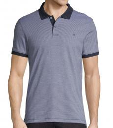 Calvin Klein Night Sky Liquid Touch Striped Polo