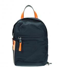 Prada Blue Solid Medium Slingpack