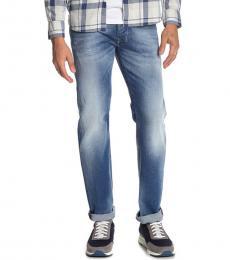 Diesel Blue Larkee Regular Straight Jeans