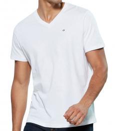 Diesel White Hardware Logo T-Shirt