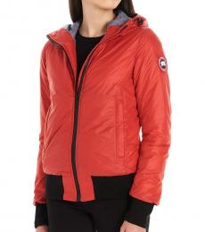 Canada Goose Red Dore Hooded Jacket