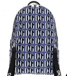 Blue Signature Large Backpack