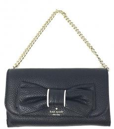 Black Rosewood Place Small Shoulder Bag