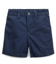 Ralph Lauren Baby Boys French Navy Poplin Shorts