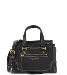 Marc Jacobs Black Cruiser Mini Satchel