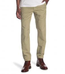 AG Adriano Goldschmied Olive Marshall Chino Pants