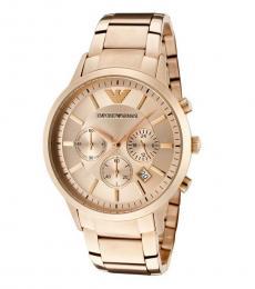 Emporio Armani Gold Renato Classic Watch