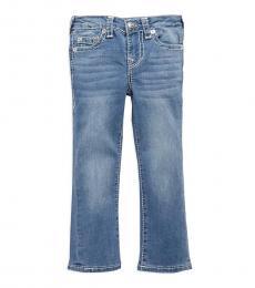 True Religion Little Girls Blue Lake Geno Relaxed Slim Jeans