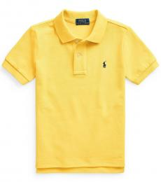 Ralph Lauren Little Boys Signal Yellow Polo