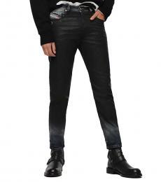 Diesel Black Mharky Slim Skinny Fit Jeans