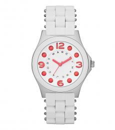Marc Jacobs White Pelly Bracelet Watch