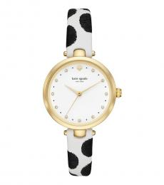 Kate Spade Black & White Holland Sophisticated Watch