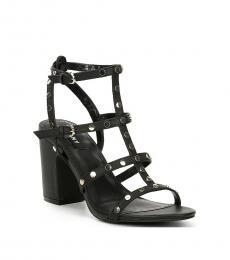 DKNY Black Hanz Studded Heels