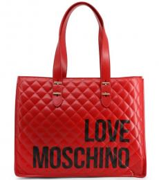 Red Bold Logo Large Tote