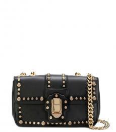 Dolce & Gabbana Black Lucia Small Shoulder Bag