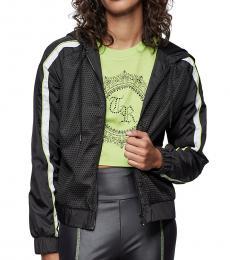 Black Nylon Mesh Jacket