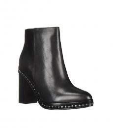 Coach Black Justina Booties