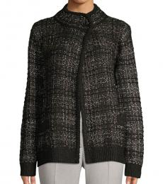 Karl Lagerfeld Black Tweed Jacket