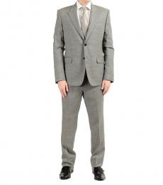 Grey Two Button Suit