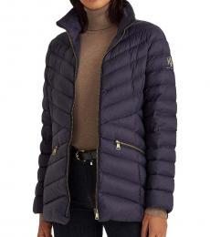 Ralph Lauren Navy Packable Quilted Down Jacket
