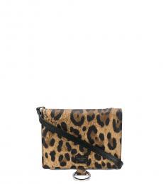 Dolce & Gabbana Leopard Print Mini Crossbody Bag