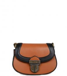 Bottega Veneta Rust Buckle Small Crossbody