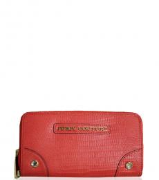 Juicy Couture Red Continental Wallet