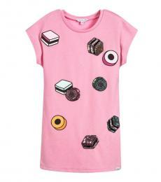 Little Marc Jacobs Baby Girls Pink Jersey Dress