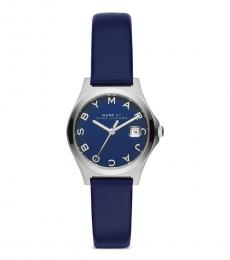 Blue Silver Striking Watch