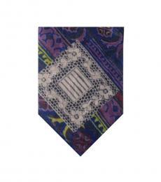Dolce & Gabbana Purple Timeless Tie