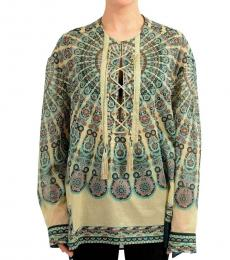 Multi color Long Sleeve Tunic Top