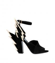 Prada Black Thunder Heels