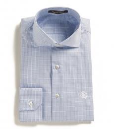 Roberto Cavalli Light Blue Azzurro Dress Shirt