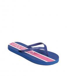 Calvin Klein Scuba Blue Salem Flip Flops