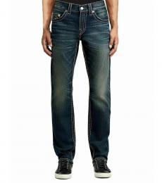 True Religion Indigo Dweller Relaxed Skinny Jeans