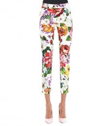 Dolce & Gabbana Multi color Straight Pants