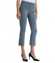 Dark Grey Jodi High-Rise Crop Jeans