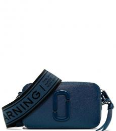 Marc Jacobs Navy Snapshot Ceramic Small Crossbody